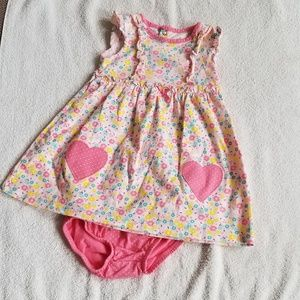 Carter's Two Piece Floral Set 12 Months